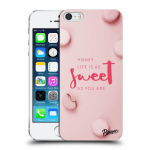 Picasee plastový průhledný obal pro Apple iPhone 5/5S/SE - Life is as sweet as you are