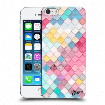 Obal pro Apple iPhone 5/5S/SE - Colorful roof