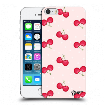 Obal pro Apple iPhone 5/5S/SE - Cherries