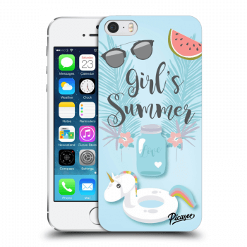 Obal pro Apple iPhone 5/5S/SE - Girls Summer