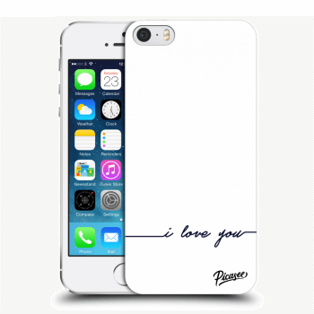Obal pro Apple iPhone 5/5S/SE - I love you