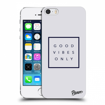Obal pro Apple iPhone 5/5S/SE - Good vibes only