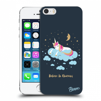 Obal pro Apple iPhone 5/5S/SE - Believe In Unicorns