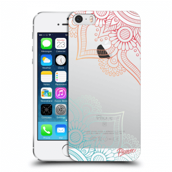Obal pro Apple iPhone 5/5S/SE - Flowers pattern