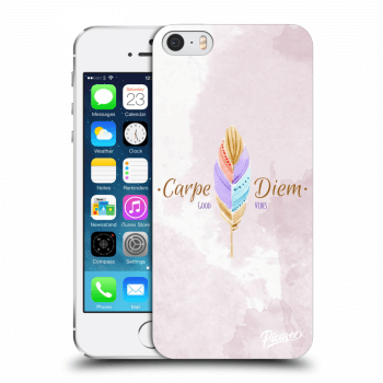 Obal pro Apple iPhone 5/5S/SE - Carpe Diem