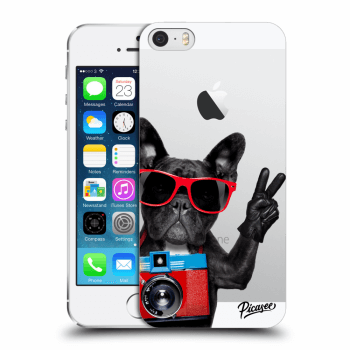 Obal pro Apple iPhone 5/5S/SE - French Bulldog