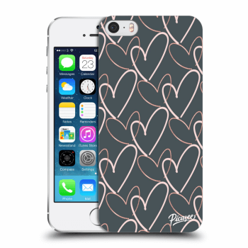Obal pro Apple iPhone 5/5S/SE - Lots of love