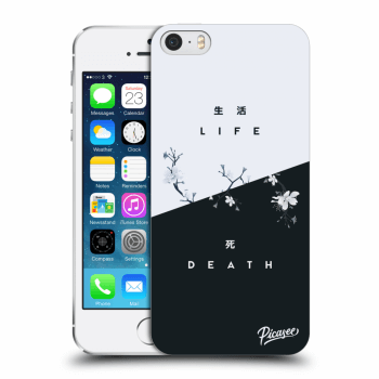 Obal pro Apple iPhone 5/5S/SE - Life - Death