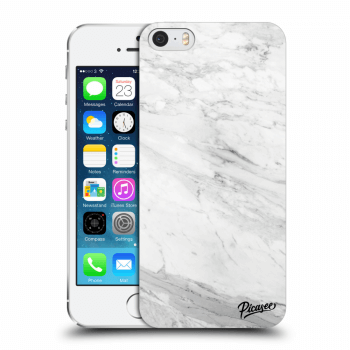 Obal pro Apple iPhone 5/5S/SE - White marble