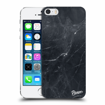 Obal pro Apple iPhone 5/5S/SE - Black marble