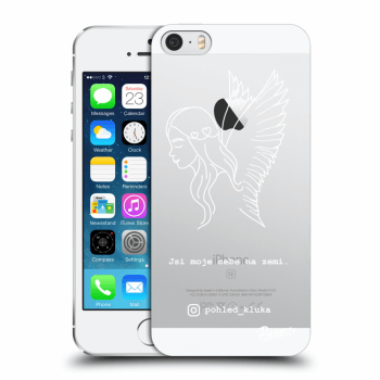 Obal pro Apple iPhone 5/5S/SE - Heaven White