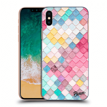 Obal pro Apple iPhone X/XS - Colorful roof