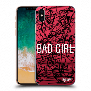 Obal pro Apple iPhone X/XS - Bad girl