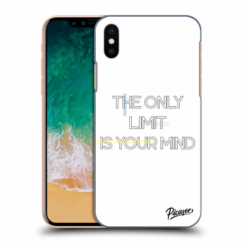 Obal pro Apple iPhone X/XS - The only limit is your mind