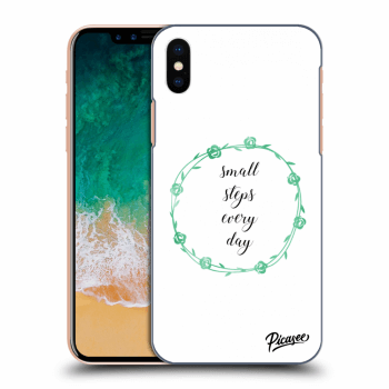 Obal pro Apple iPhone X/XS - Small steps every day