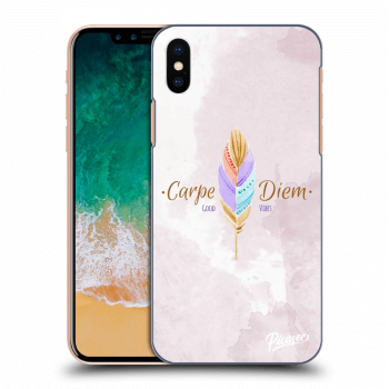 Obal pro Apple iPhone X/XS - Carpe Diem