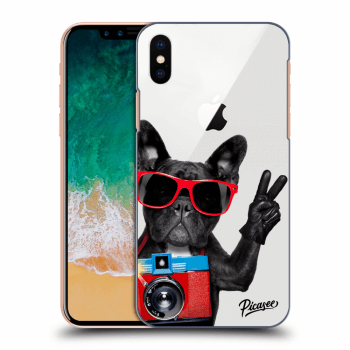 Obal pro Apple iPhone X/XS - French Bulldog