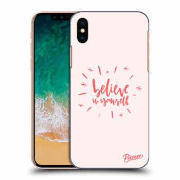 Obal pro Apple iPhone X/XS - Believe in yourself