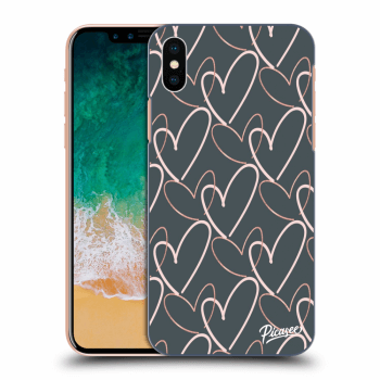 Obal pro Apple iPhone X/XS - Lots of love