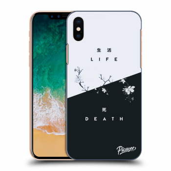 Obal pro Apple iPhone X/XS - Life - Death