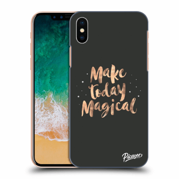 Obal pro Apple iPhone X/XS - Make today Magical