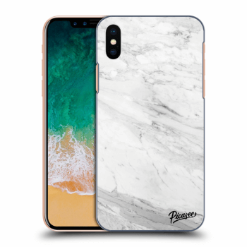 Obal pro Apple iPhone X/XS - White marble