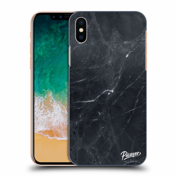 Obal pro Apple iPhone X/XS - Black marble