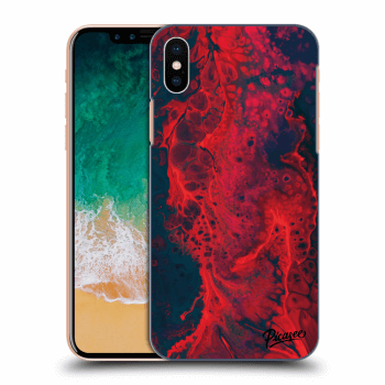 Obal pro Apple iPhone X/XS - Organic red
