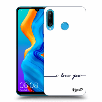 Obal pro Huawei P30 Lite - I love you