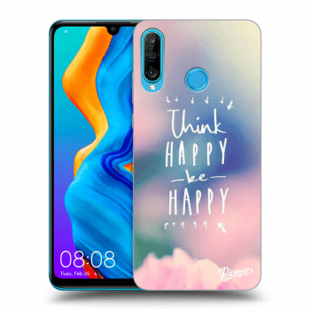 Obal pro Huawei P30 Lite - Think happy be happy