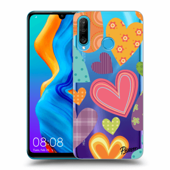 Obal pro Huawei P30 Lite - Colored heart