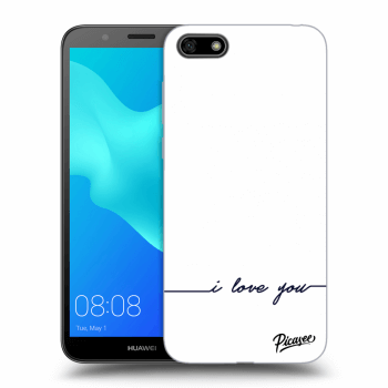 Obal pro Huawei Y5 2018 - I love you
