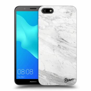Obal pro Huawei Y5 2018 - White marble