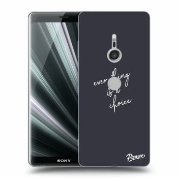Obal pro Sony Xperia XZ3 - Everything is a choice