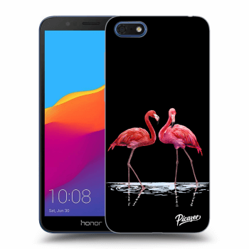 Obal pro Honor 7S - Flamingos couple