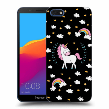 Obal pro Honor 7S - Unicorn star heaven