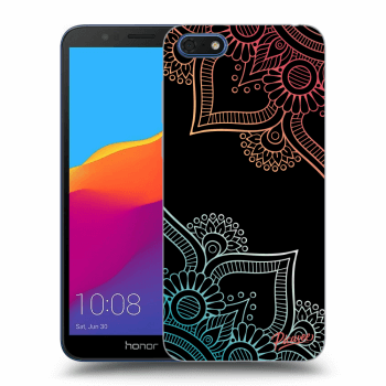 Obal pro Honor 7S - Flowers pattern