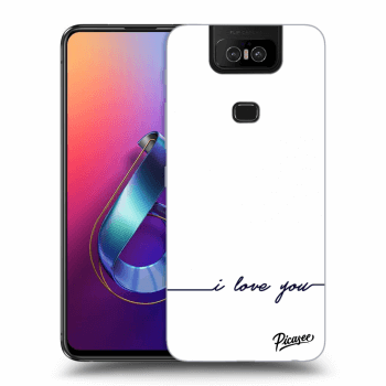 Obal pro Asus Zenfone 6 ZS630KL - I love you