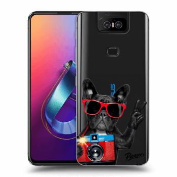 Obal pro Asus Zenfone 6 ZS630KL - French Bulldog