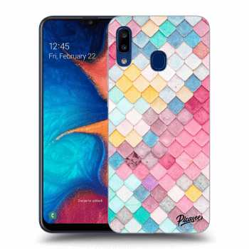 Obal pro Samsung Galaxy A20e A202F - Colorful roof