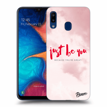 Obal pro Samsung Galaxy A20e A202F - Just be you