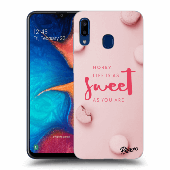Obal pro Samsung Galaxy A20e A202F - Life is as sweet as you are