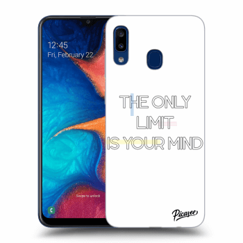 Obal pro Samsung Galaxy A20e A202F - The only limit is your mind