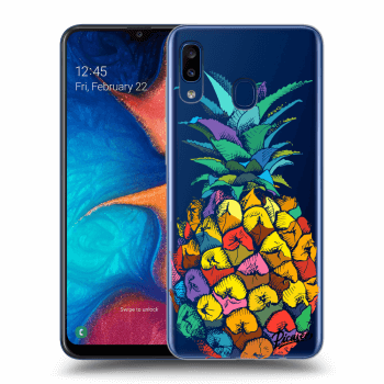 Obal pro Samsung Galaxy A20e A202F - Pineapple