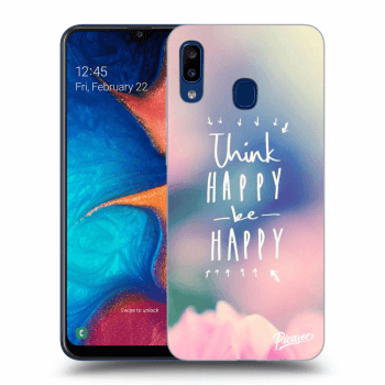 Obal pro Samsung Galaxy A20e A202F - Think happy be happy