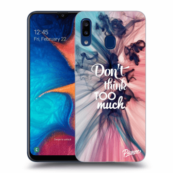 Obal pro Samsung Galaxy A20e A202F - Don't think TOO much