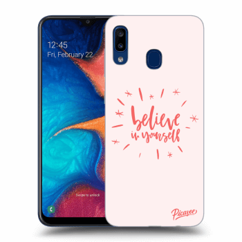 Obal pro Samsung Galaxy A20e A202F - Believe in yourself