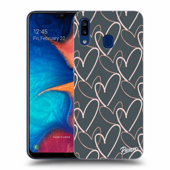 Obal pro Samsung Galaxy A20e A202F - Lots of love