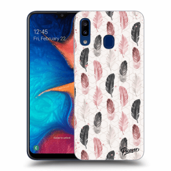 Obal pro Samsung Galaxy A20e A202F - Feather 2
