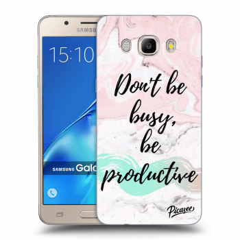 Obal pro Samsung Galaxy J5 2016 J510F - Don't be busy, be productive
